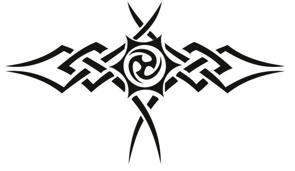 tatouage tribal homme. tatouage tribal lettre f